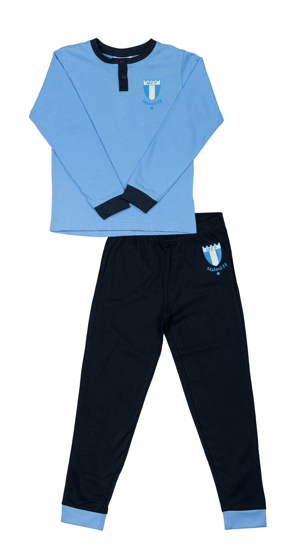 Pyjamas 2-delad ljusblå