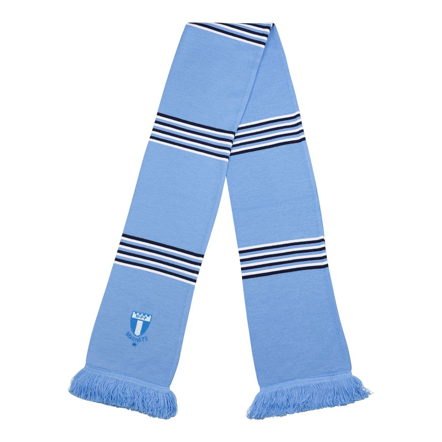 Halsduk premium ljusblå/marin