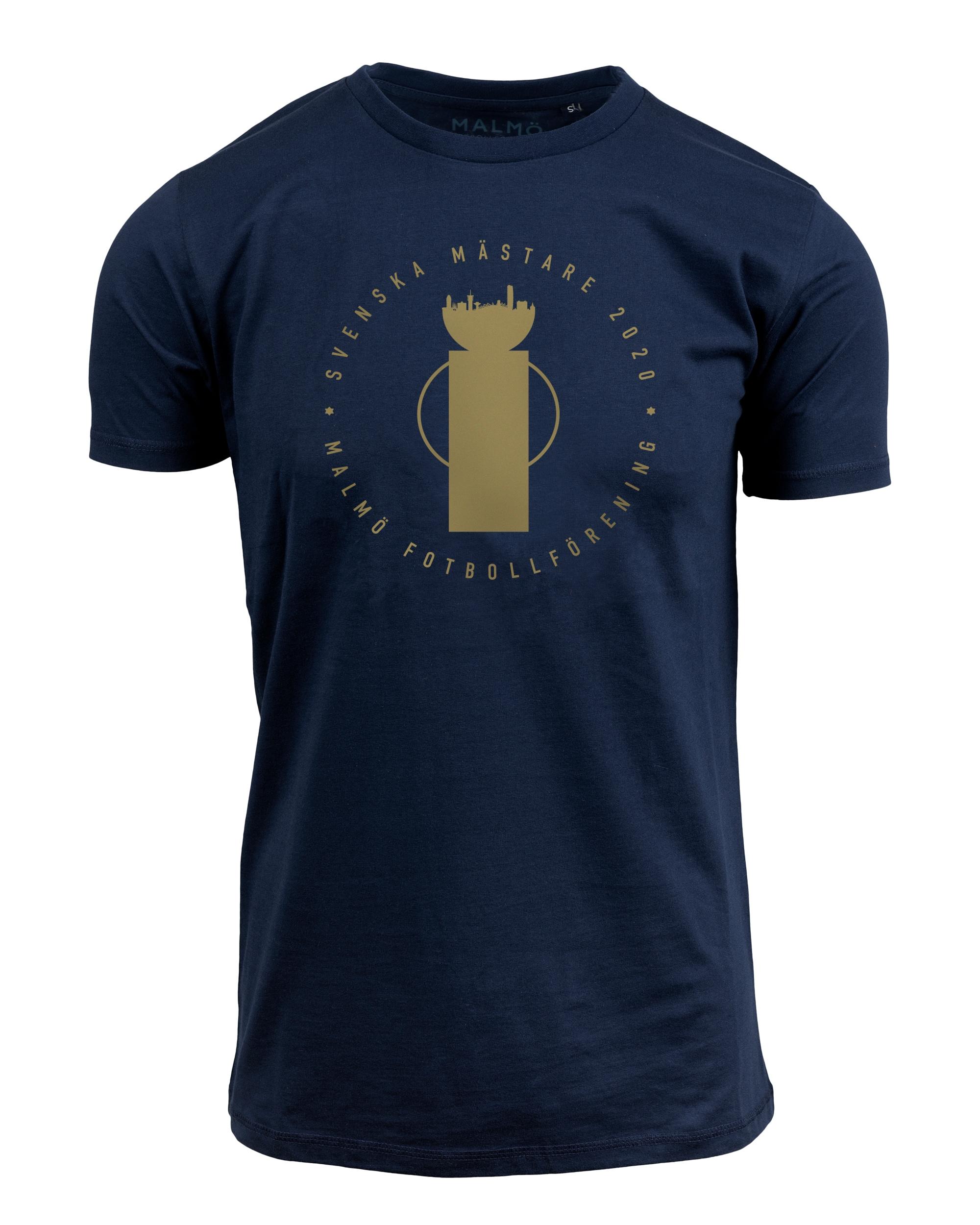 T-shirt Pokalen marinblå