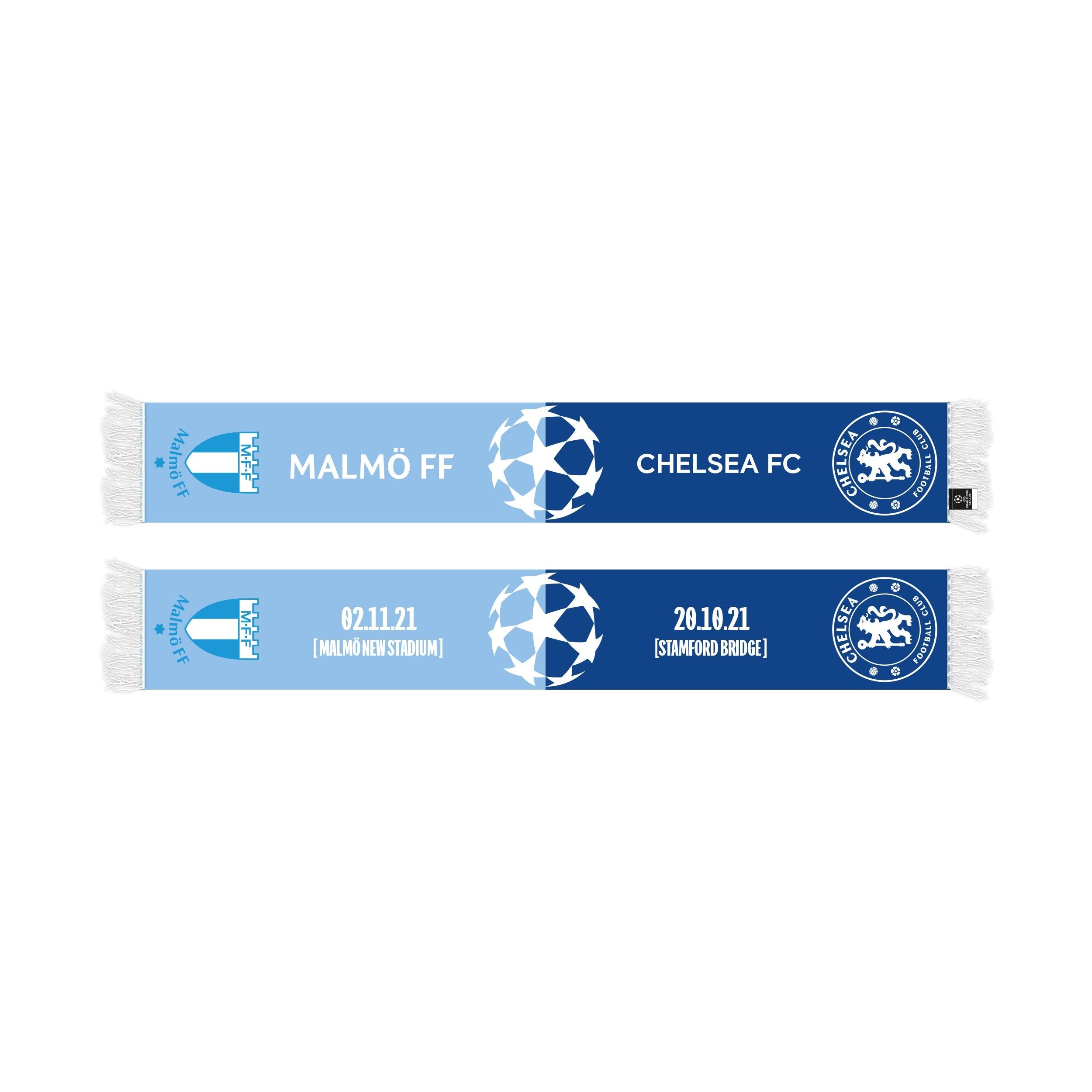 CL halsduk MFF-Chelsea