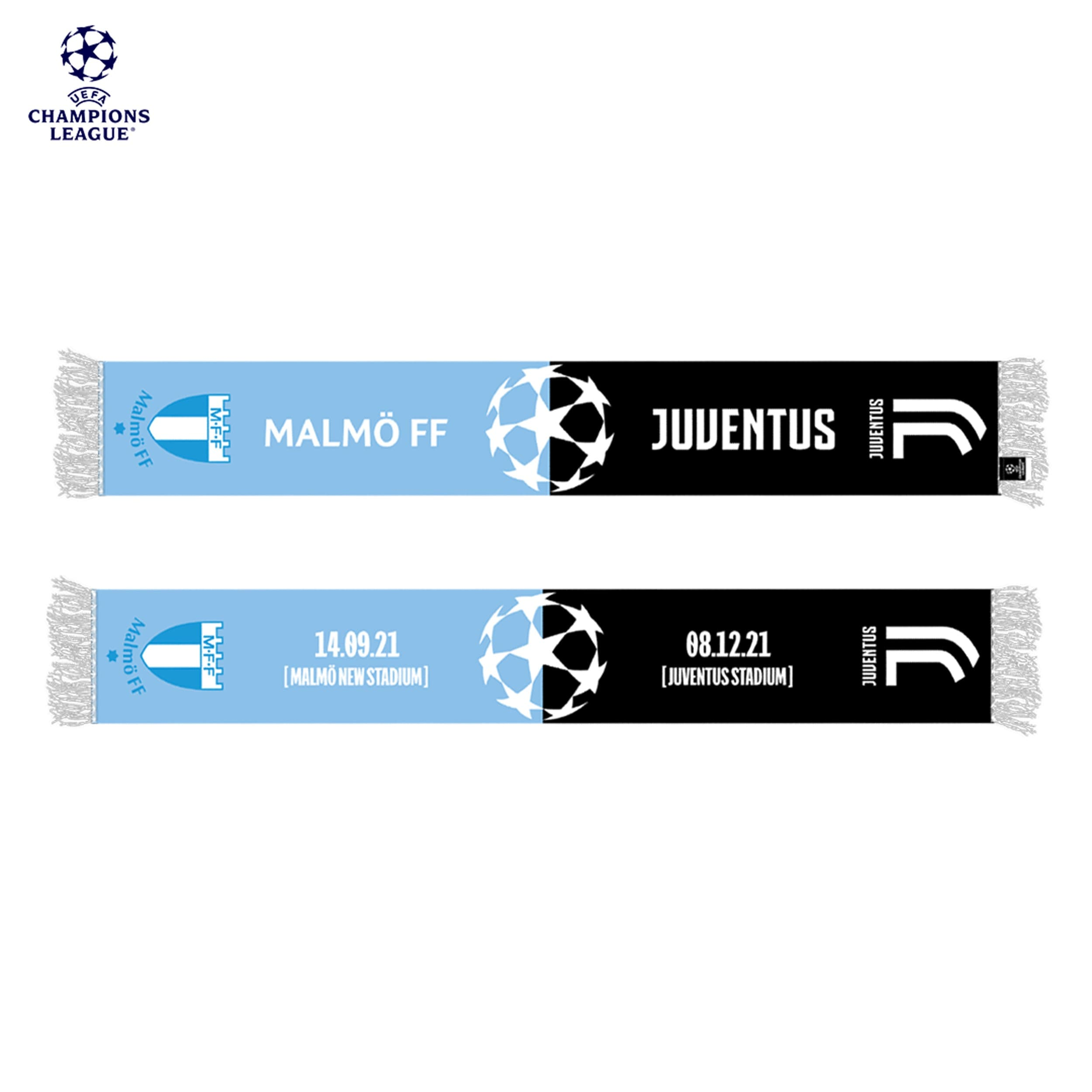CL halsduk MFF-Juventus