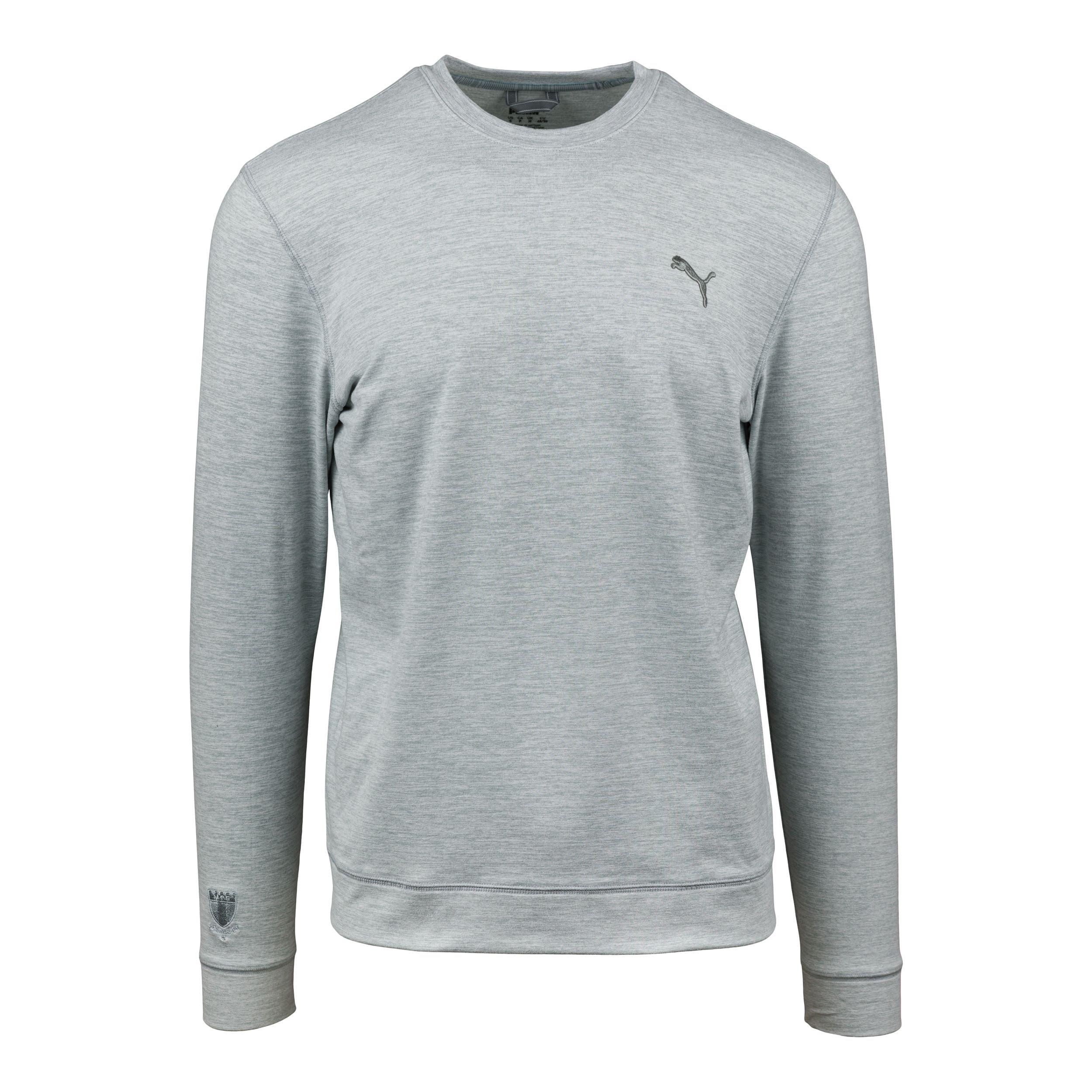 Puma cloudspun crewneck grå