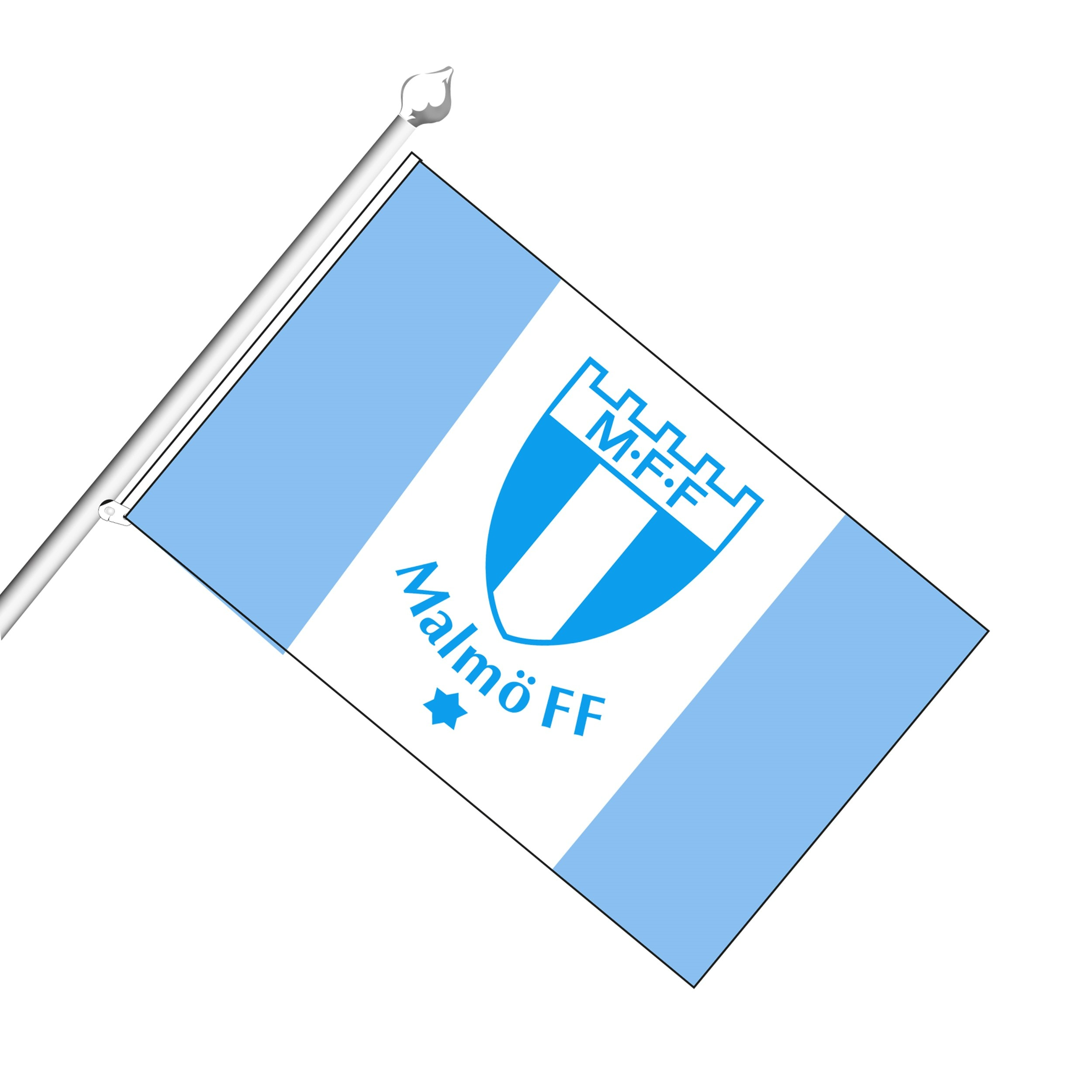 Fasadflagga vävd 70x43