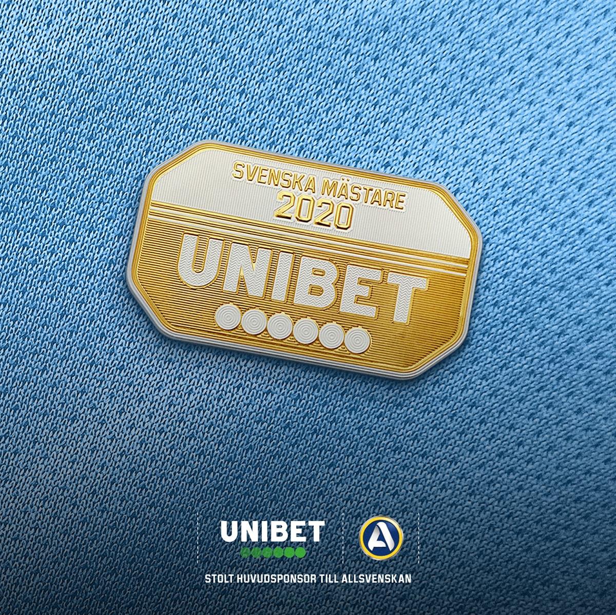 Allsvenskan+Unibet-patch guld