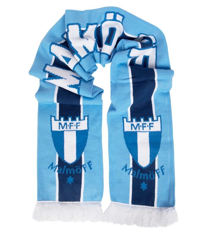 Halsduk ljusblå/marin Malmö FF