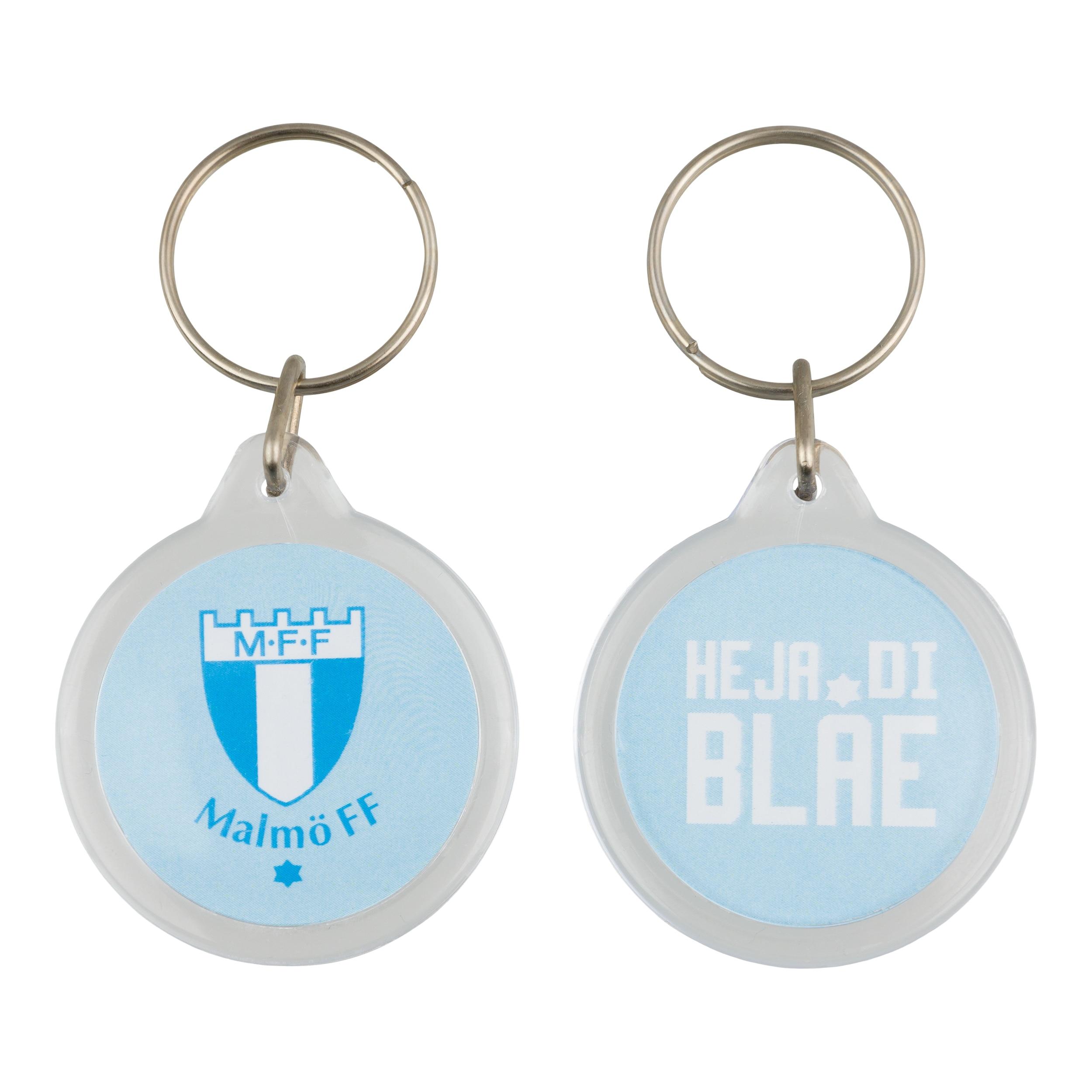 Nyckelring Heja di blåe