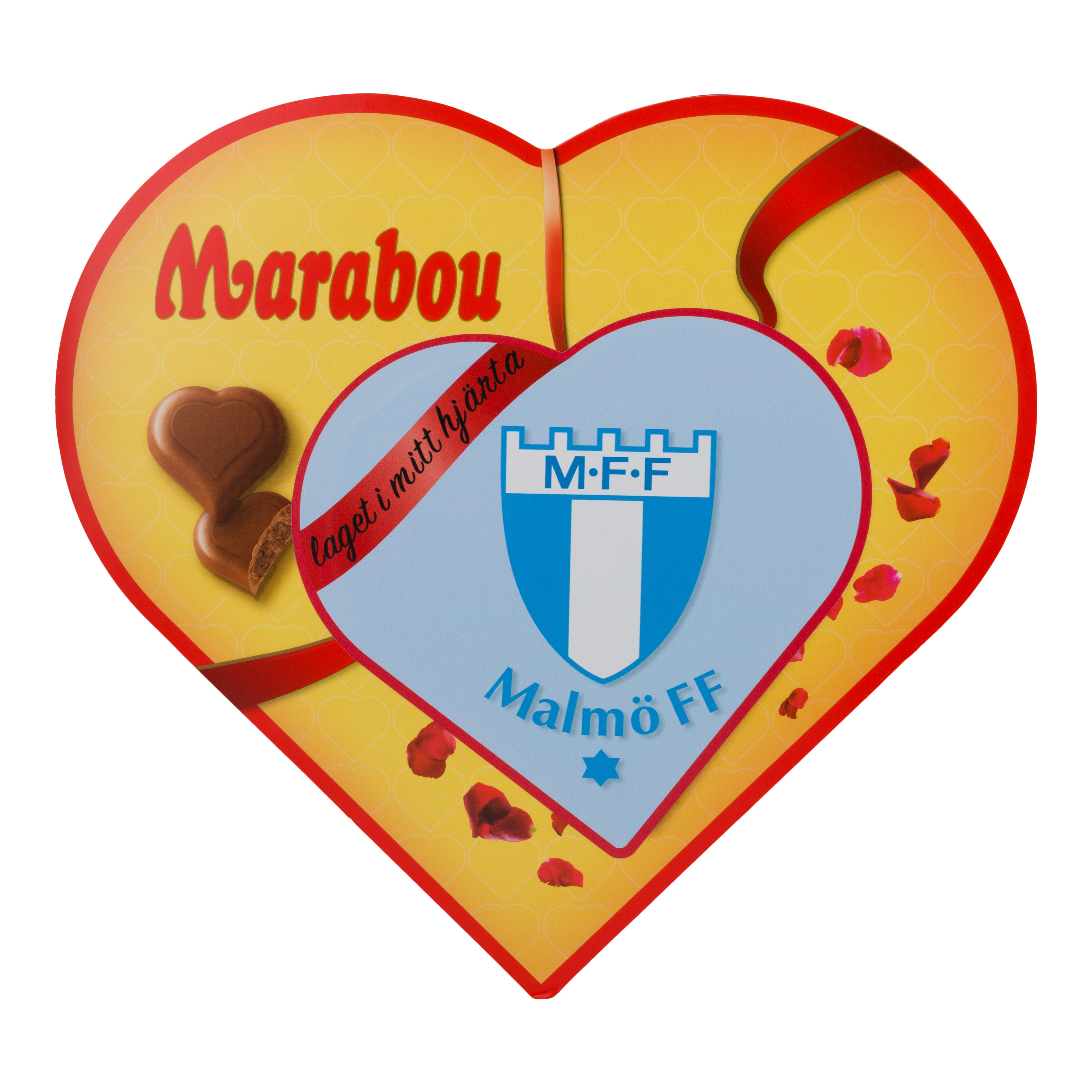 Marabou MFF hjärta