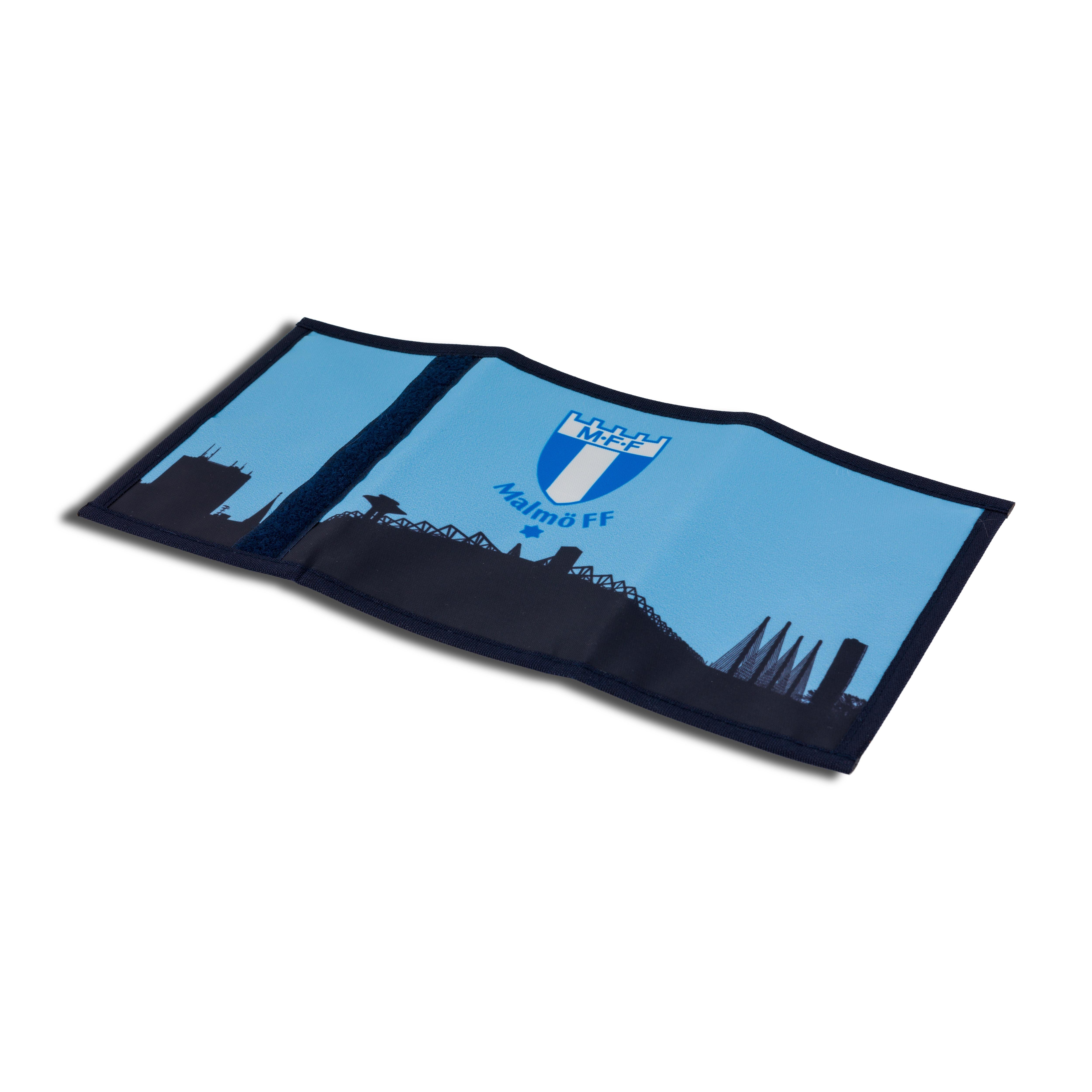 Plånbok nylon siluett