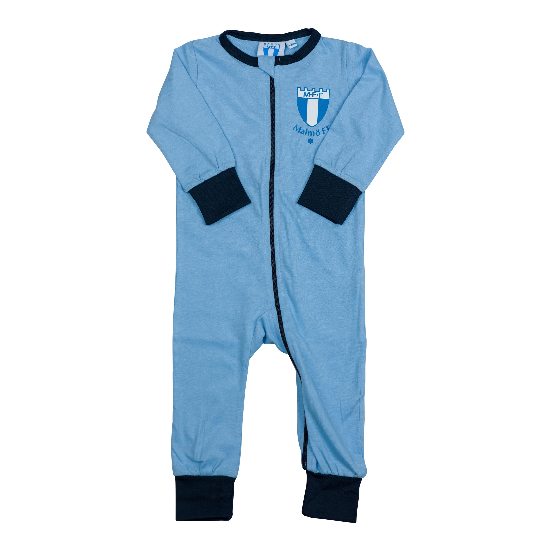 Pyjamas hel ljusblå logo