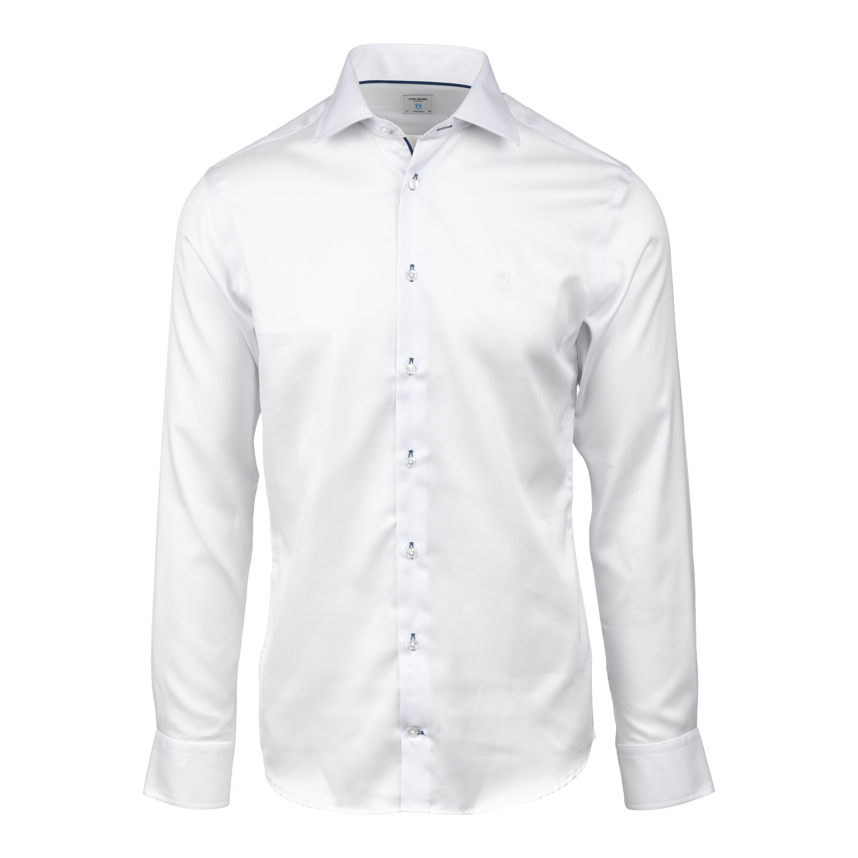 Skjorta vit bomull