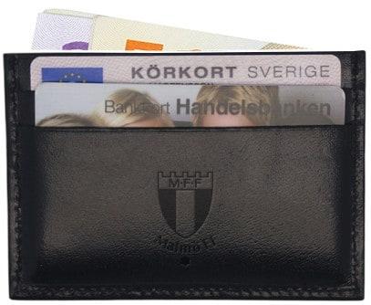 Kortplånbok skinn
