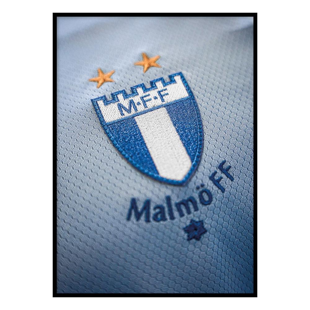 MFF emblem blå