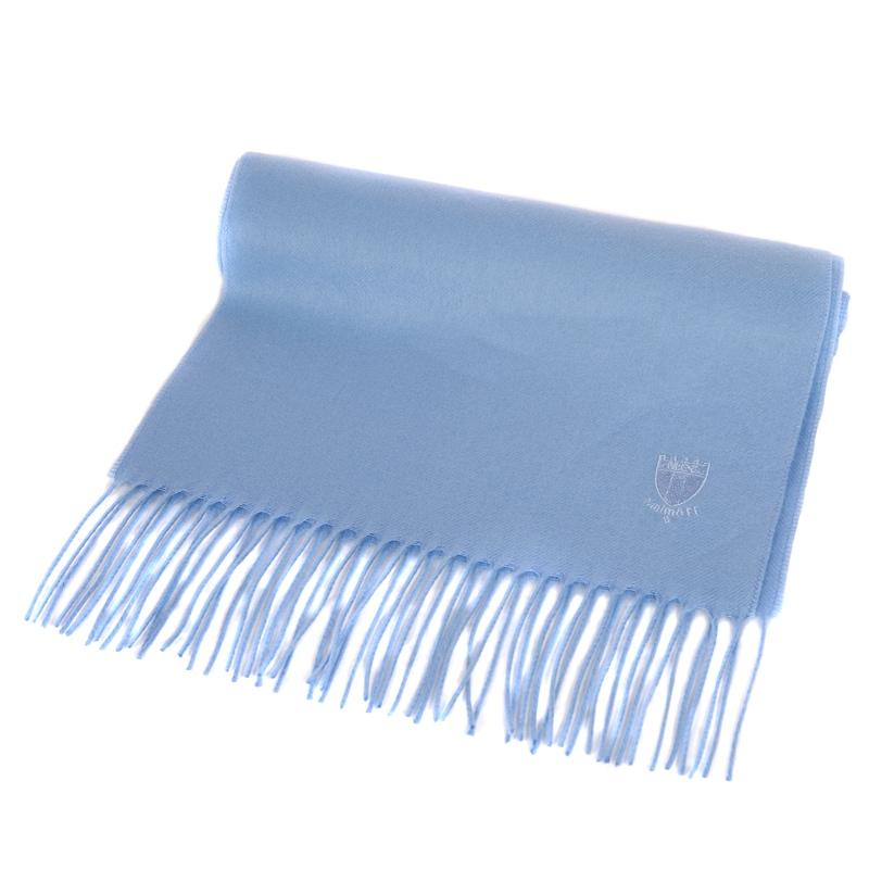 Halsduk cashmink ljusblå
