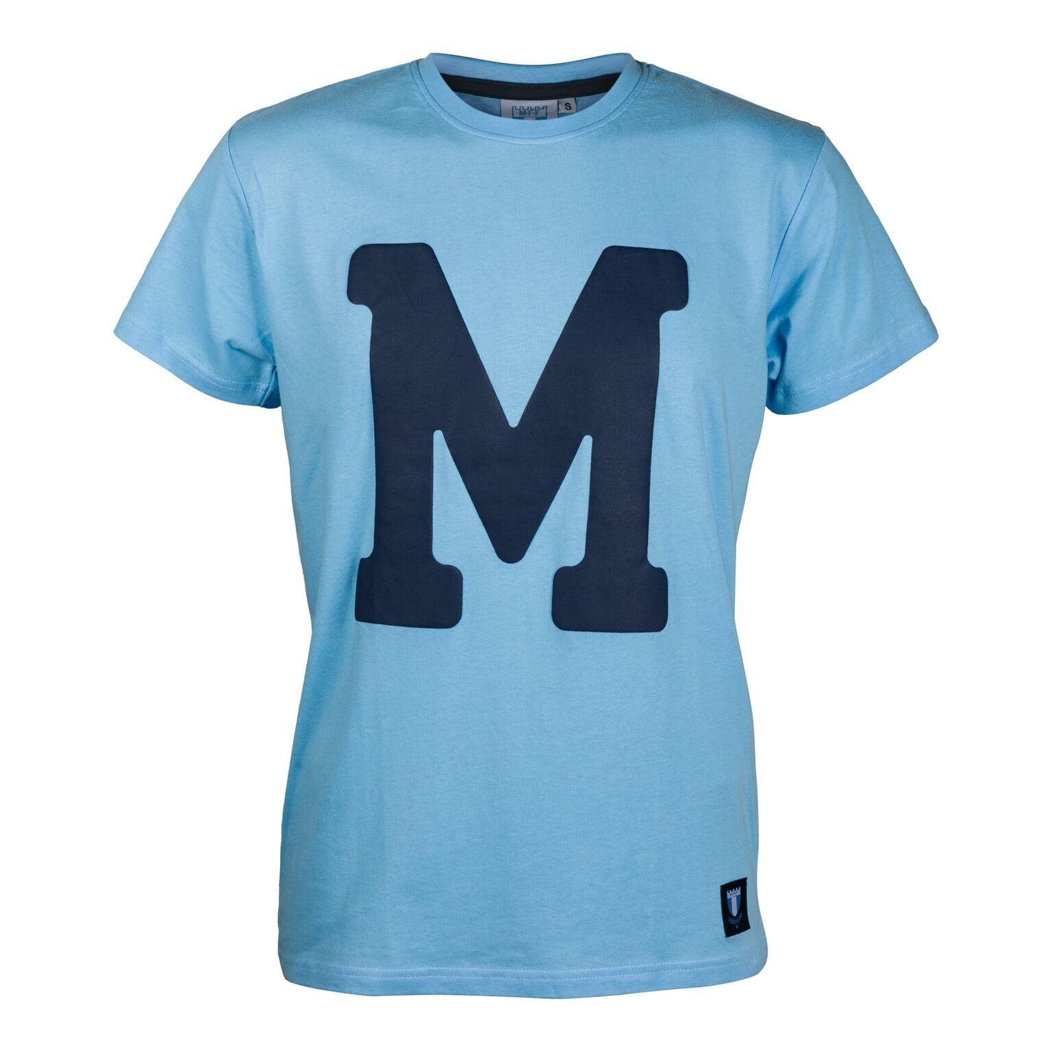T-shirt ljusblå M:et