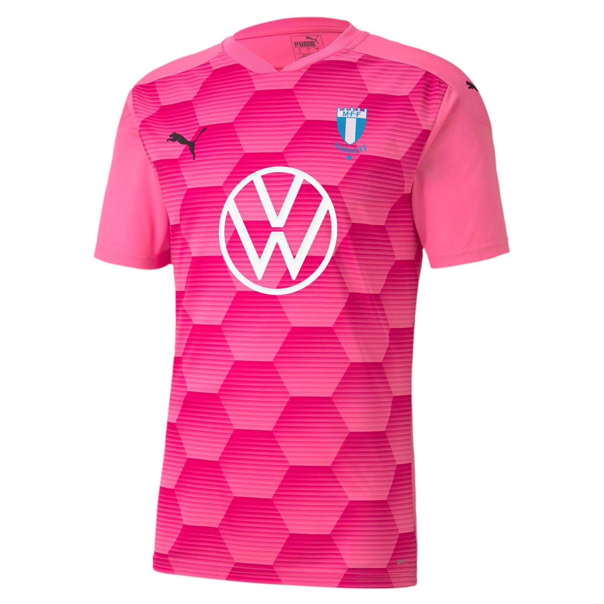 Puma målvaktströja rosa kort ärm