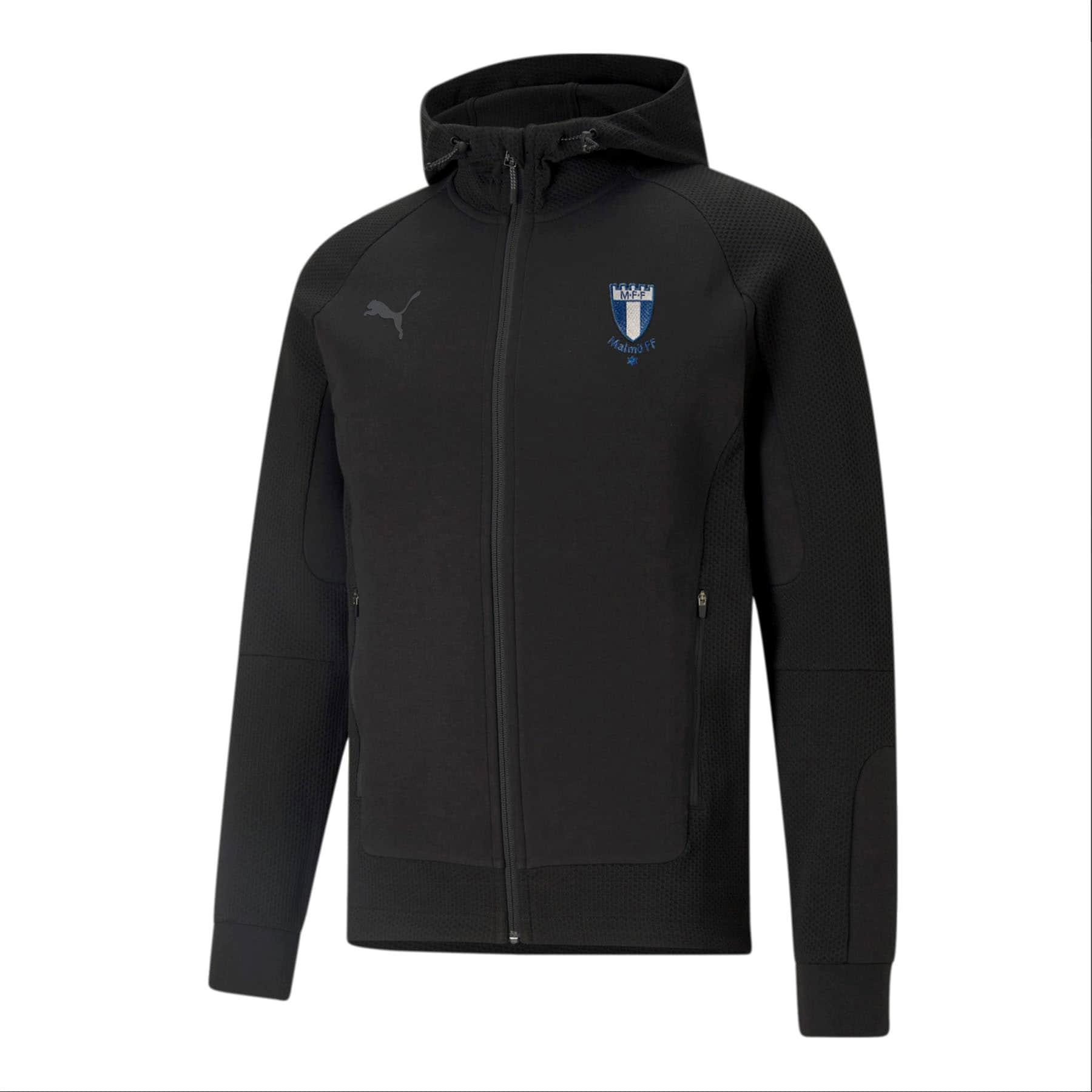 Puma teamcup ziphood svart