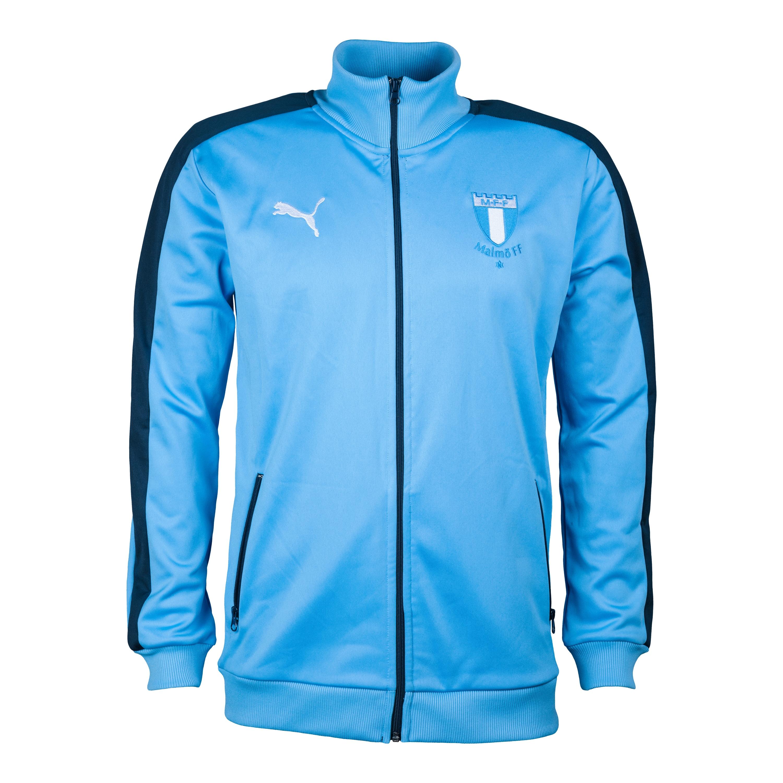 Puma MFF track jacket ljusblå