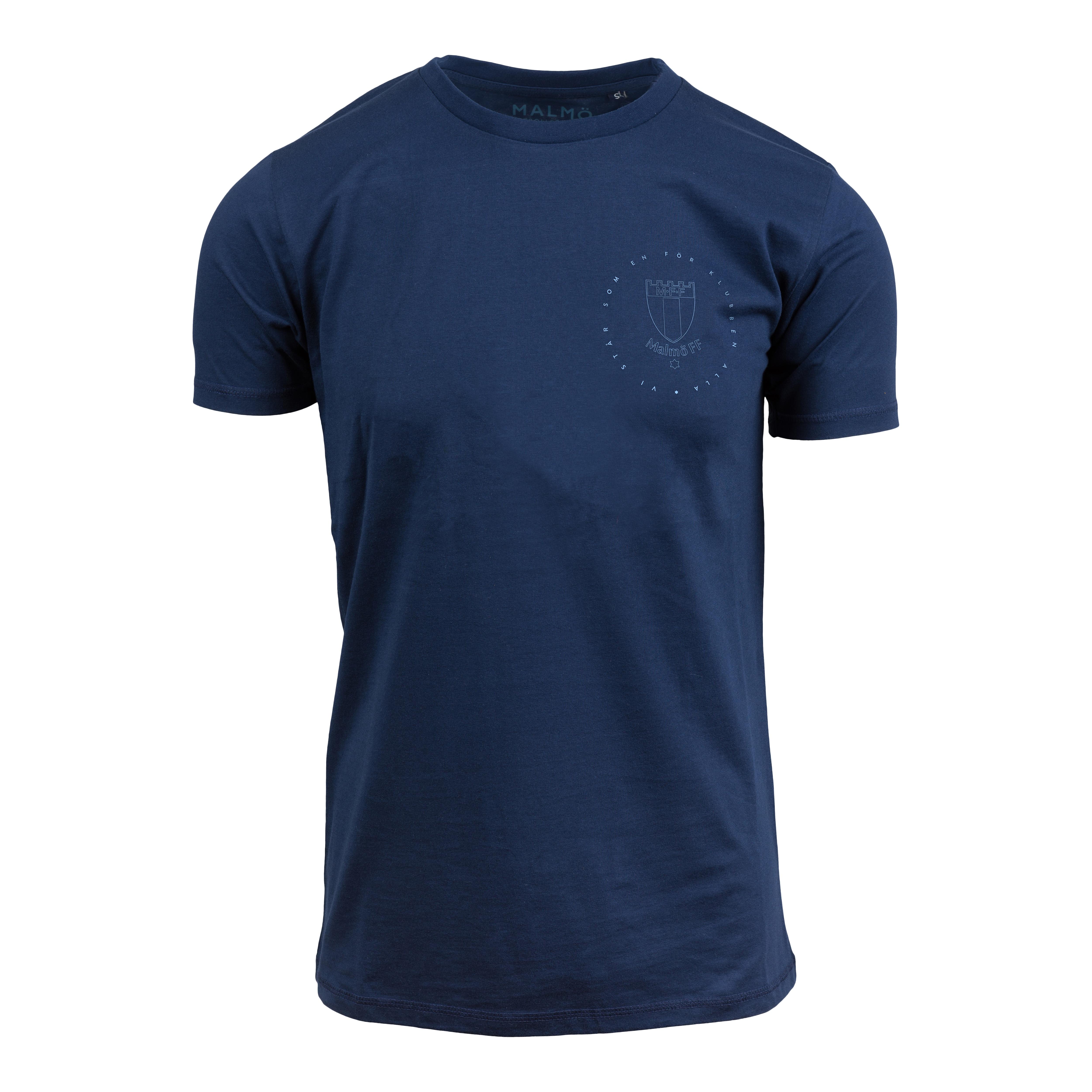 T-shirt marin litet Vi står som en