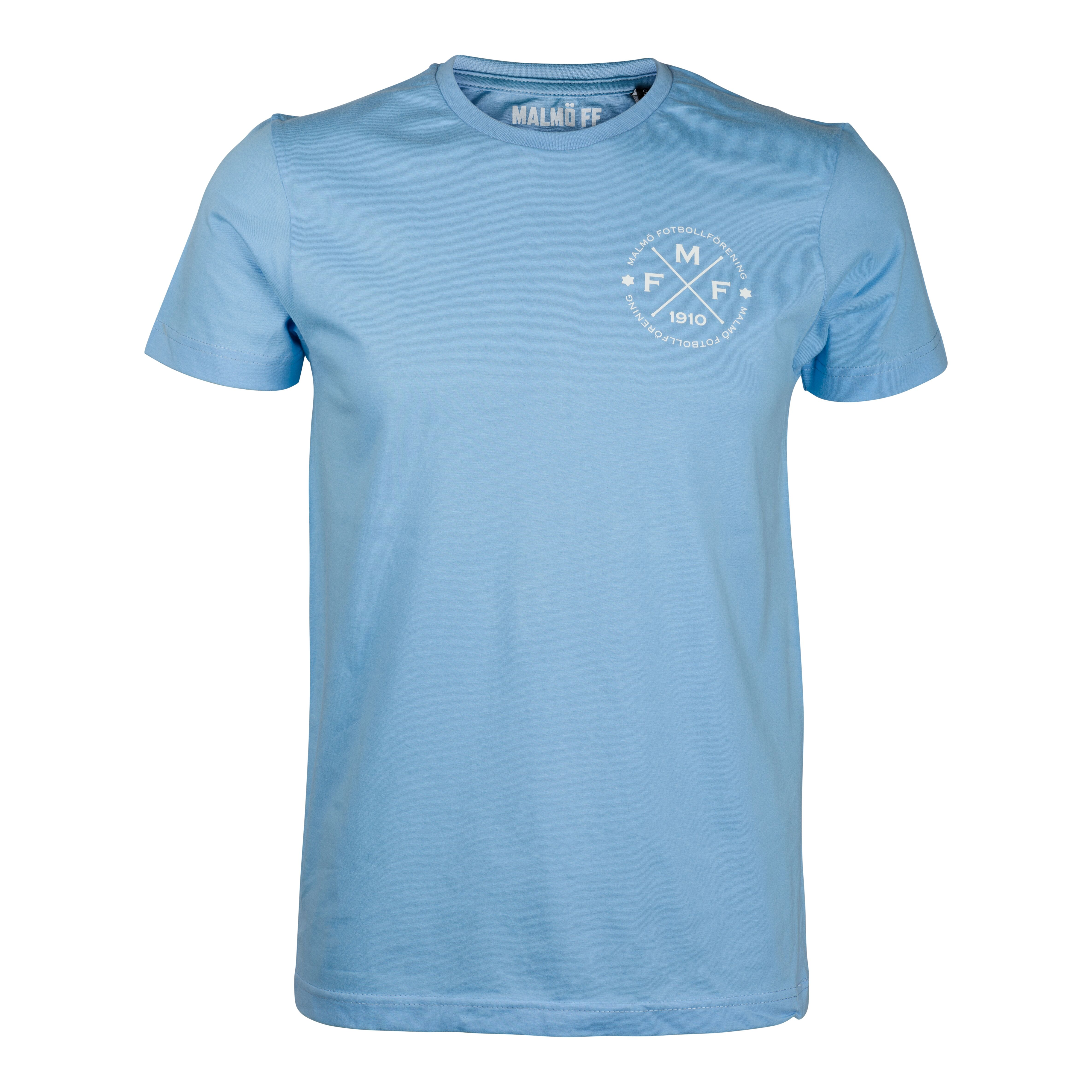 T-shirt dam ljusblå MFF 1910 litet
