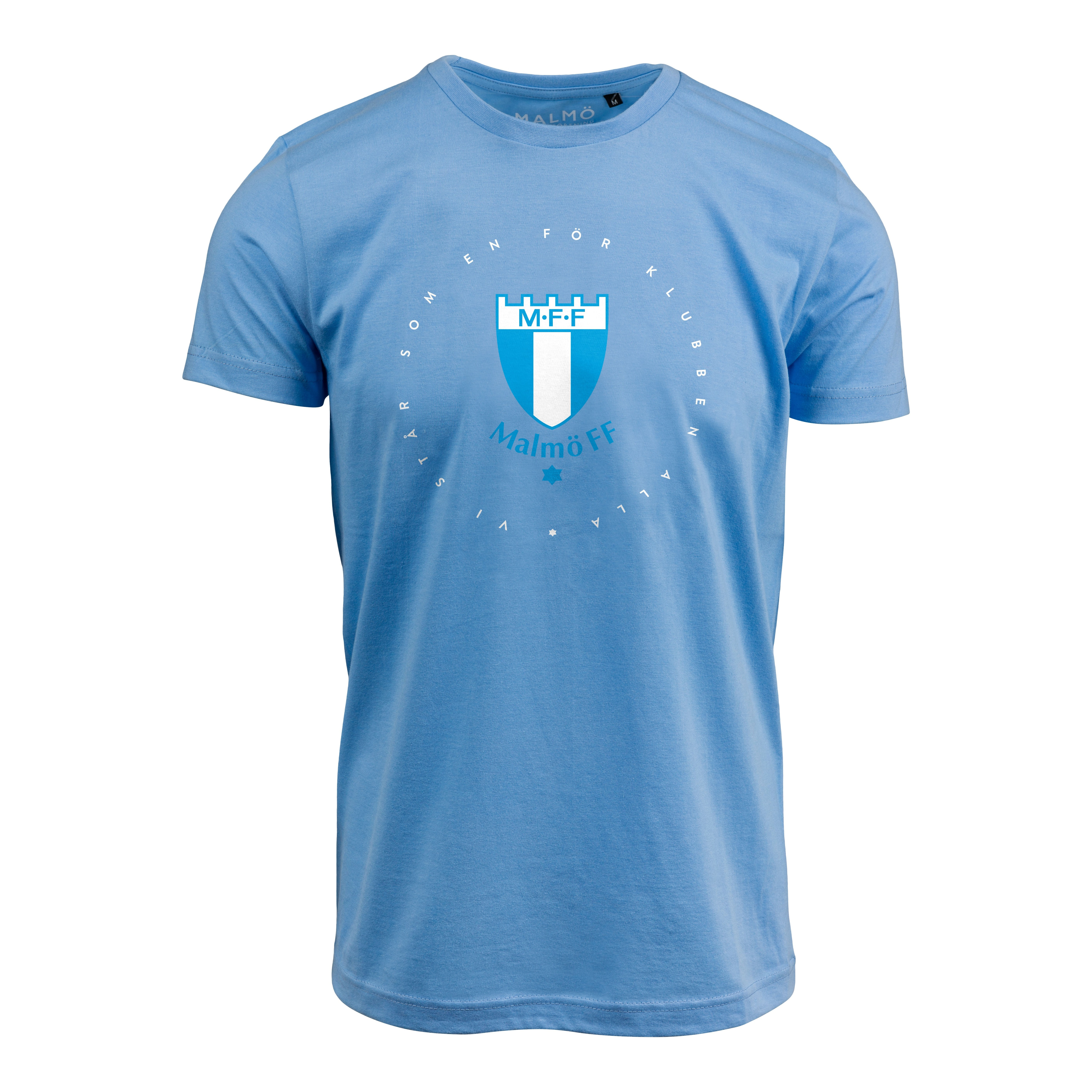 T-shirt ljusblå Vi står som en