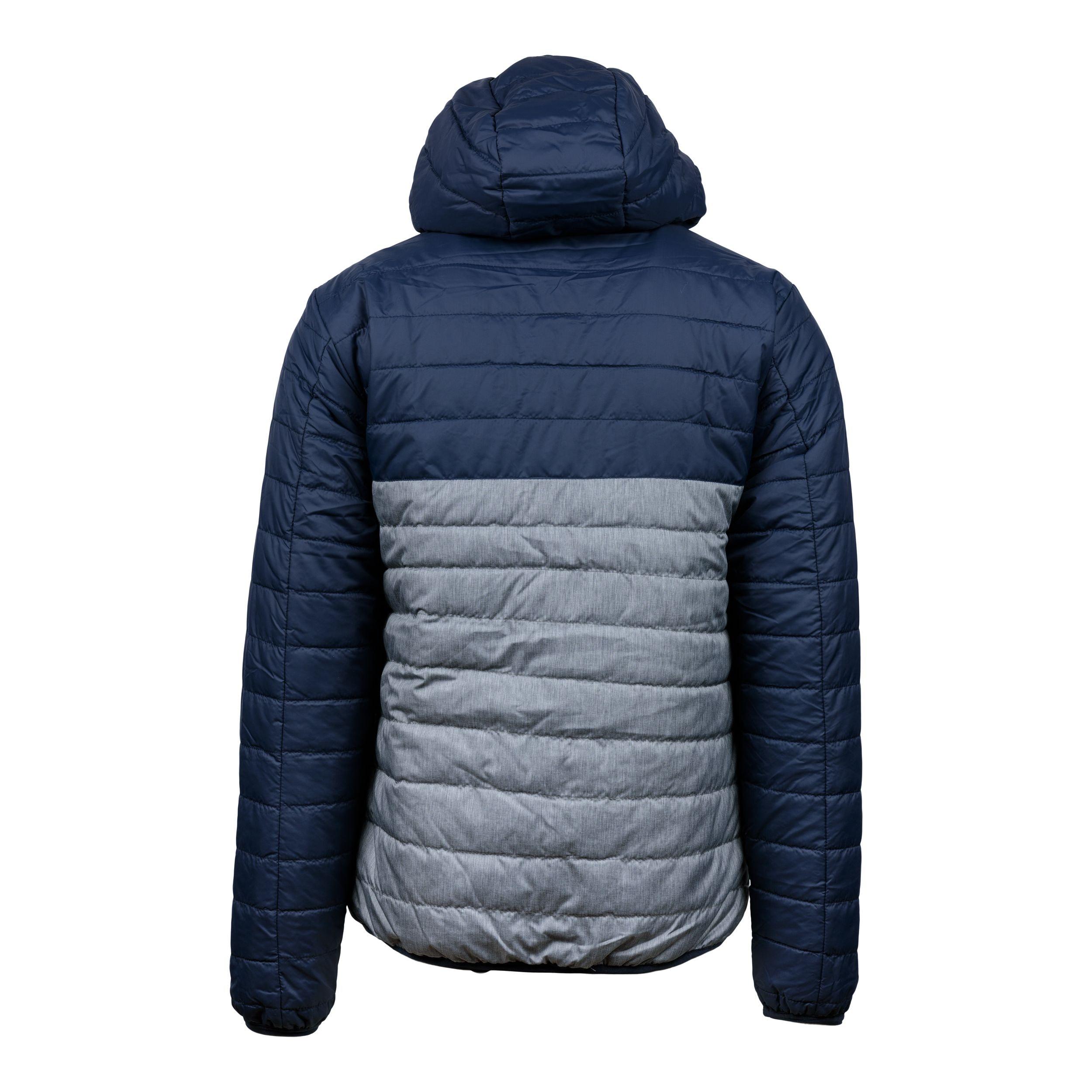 Padded jacket marin/grå