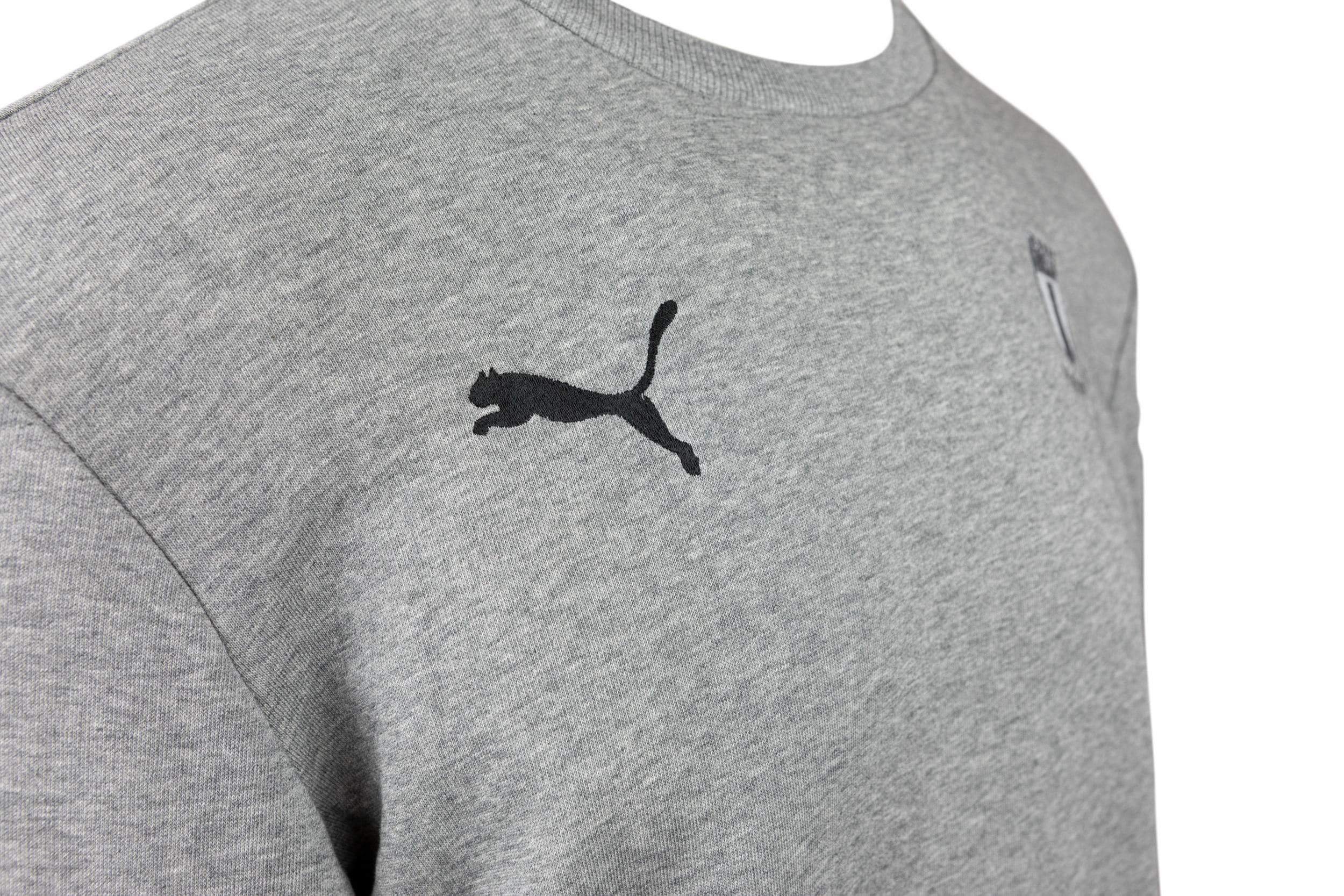 Puma sweatshirt grå ton-i-ton